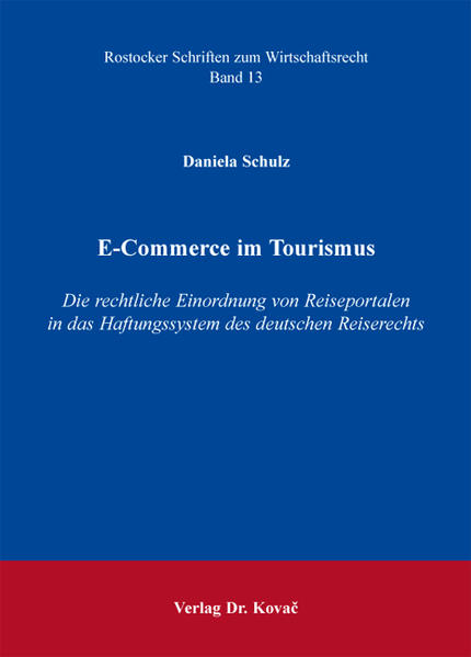 E-Commerce im Tourismus - Coverbild
