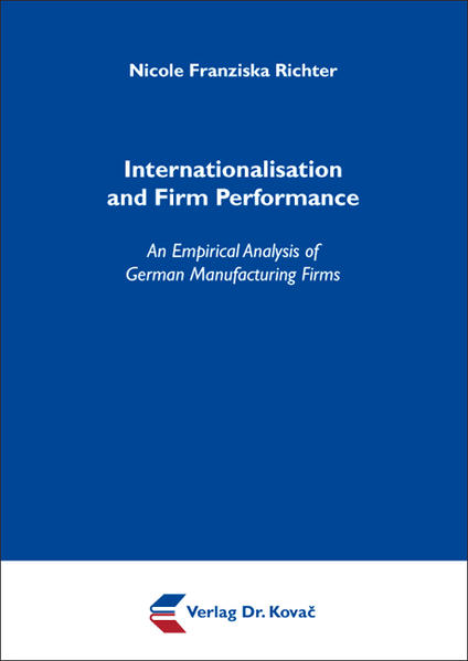 Internationalisation and Firm Performance - Coverbild