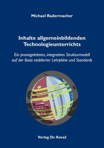 Inhalte allgemeinbildenden Technologieunterrichts - Coverbild