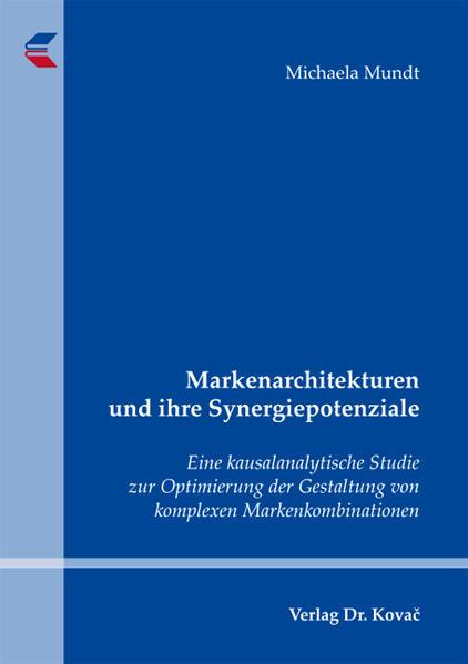 Markenarchitekturen und ihre Synergiepotenziale - Coverbild
