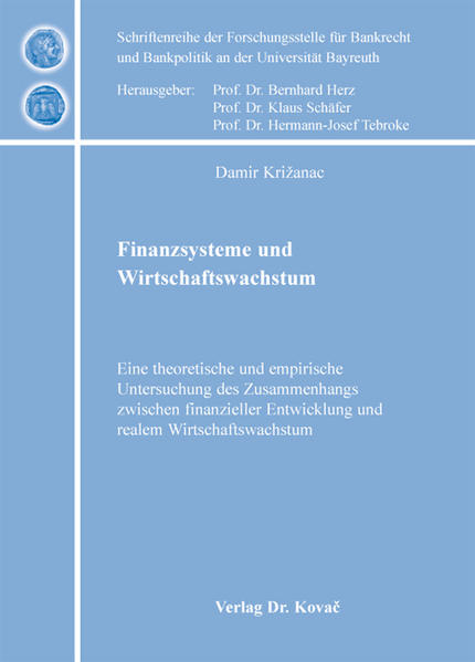 Finanzsysteme und Wirtschaftswachstum - Coverbild