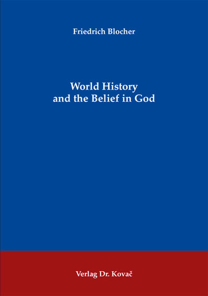 World History and the Belief in God - Coverbild