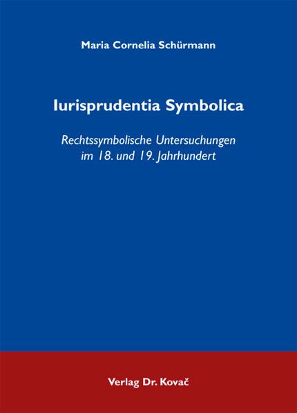 Iurisprudentia Symbolica - Coverbild