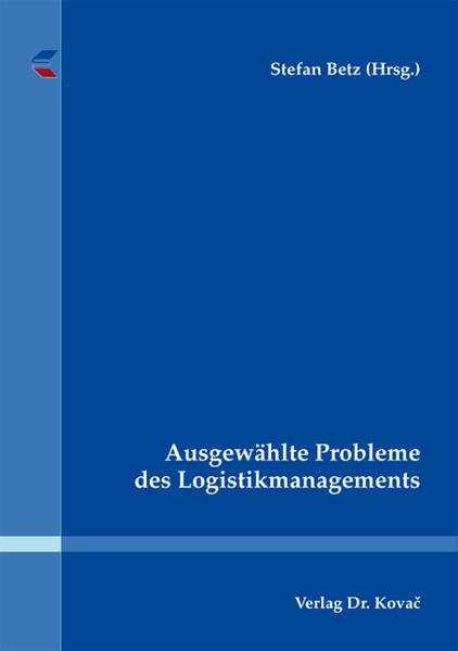 Ausgewählte Probleme des Logistikmanagements - Coverbild