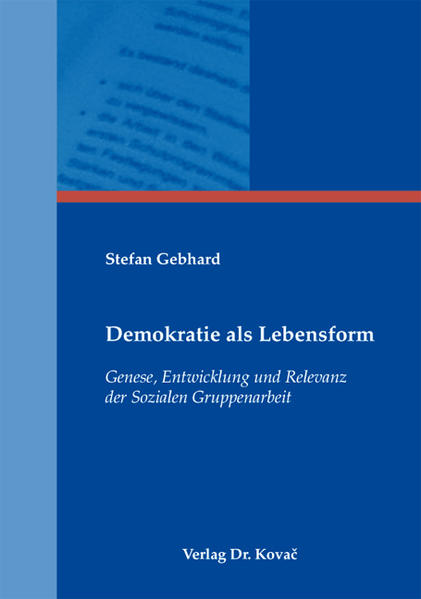 Demokratie als Lebensform - Coverbild