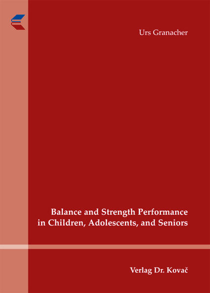 Balance and Strength Performance in Children, Adolescents, and Seniors - Coverbild