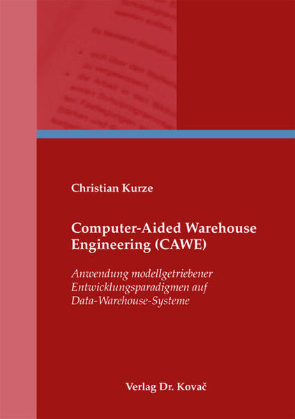 Computer-Aided Warehouse Engineering (CAWE) - Coverbild