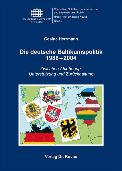 Die deutsche Baltikumspolitik 1988-2004 - Coverbild