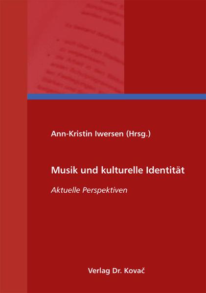 Musik und kulturelle Identität - Coverbild