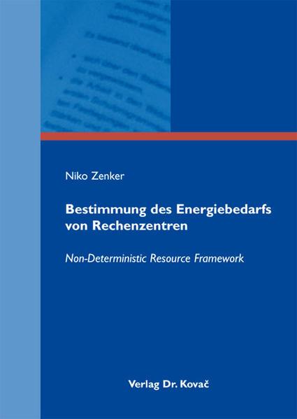 Bestimmung des Energiebedarfs von Rechenzentren - Coverbild