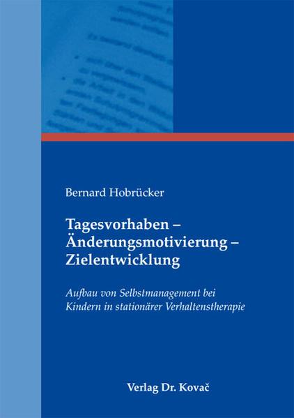 Tagesvorhaben - Änderungsmotivierung - Zielentwicklung - Coverbild