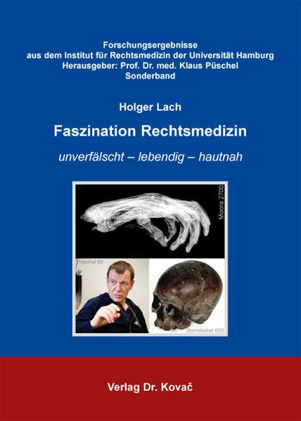 Faszination Rechtsmedizin - Coverbild