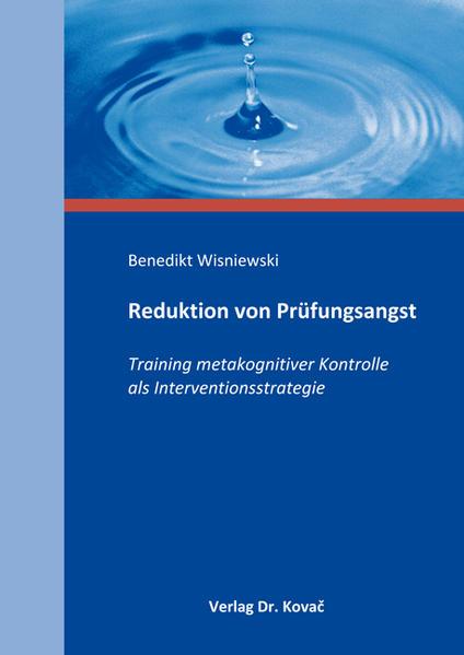 Reduktion von Prüfungsangst - Coverbild