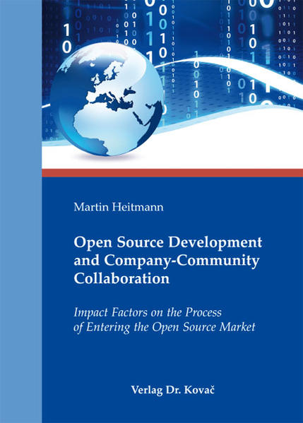 Open Source Development and Company-Community Collaboration - Coverbild