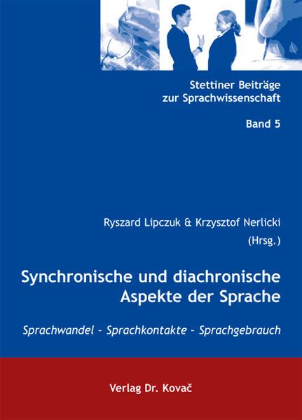 Synchronische und diachronische Aspekte der Sprache - Coverbild