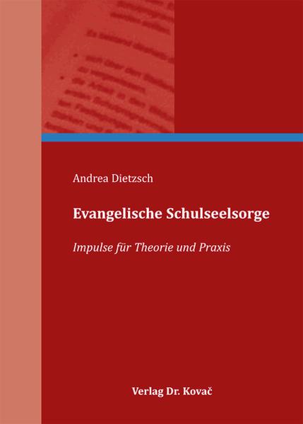 Evangelische Schulseelsorge - Coverbild