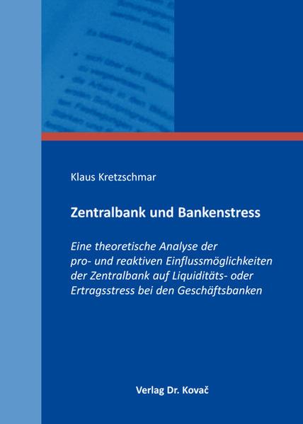 Zentralbank und Bankenstress - Coverbild