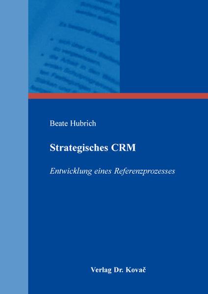 Strategisches CRM - Coverbild