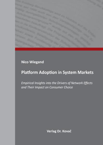 Download Platform Adoption in System Markets PDF Kostenlos
