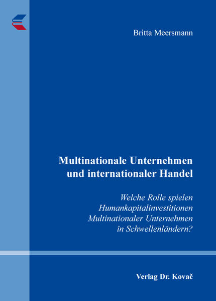 Multinationale Unternehmen und internationaler Handel - Coverbild