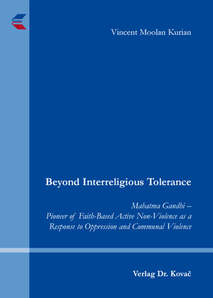Beyond Interreligious Tolerance - Coverbild
