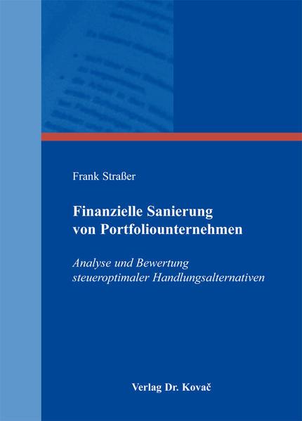 Finanzielle Sanierung von Portfoliounternehmen - Coverbild