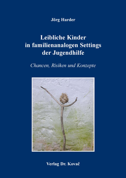 Leibliche Kinder in familienanalogen Settings der Jugendhilfe - Coverbild