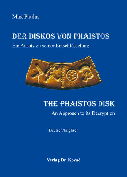 Der Diskos von Phaistos / The Phaistos Disk - Coverbild