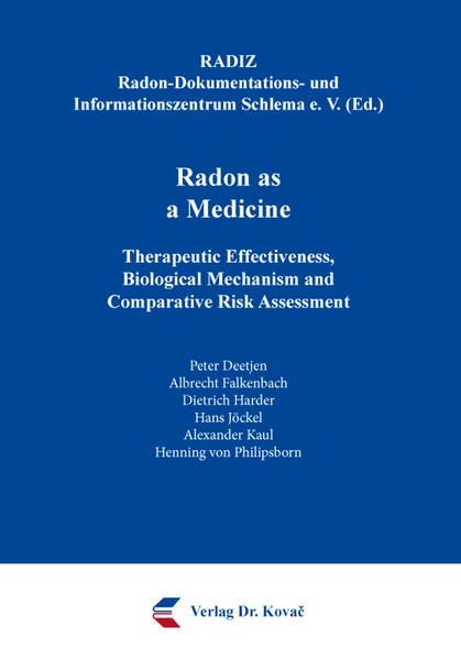 Radon as a Medicine - Coverbild