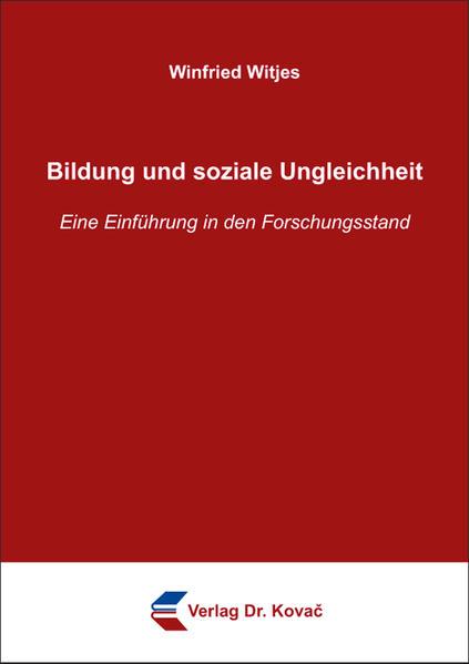 Bildung und soziale Ungleichheit - Coverbild