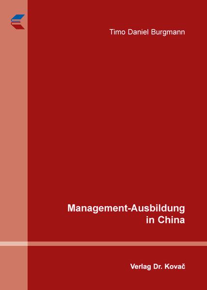 Management-Ausbildung in China - Coverbild