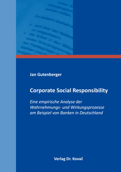 Corporate Social Responsibility - Coverbild