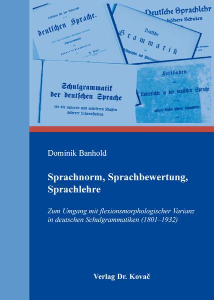 Sprachnorm, Sprachbewertung, Sprachlehre - Coverbild