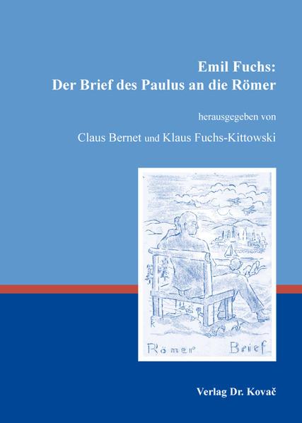 Emil Fuchs: Der Brief des Paulus an die Römer - Coverbild