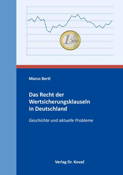 Das Recht der Wertsicherungsklauseln in Deutschland - Coverbild