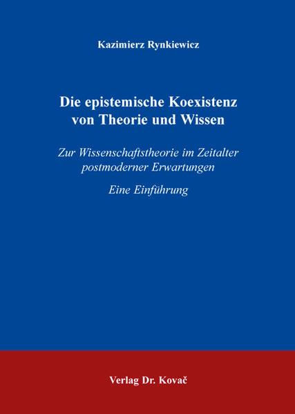 Die epistemische Koexistenz von Theorie und Wissen - Coverbild