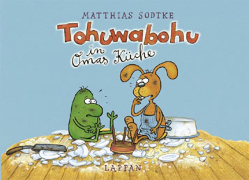 Tohuwabohu in Omas Küche - Coverbild