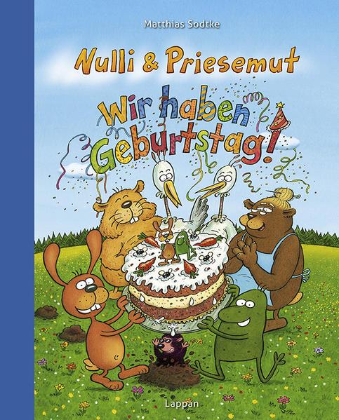 Nulli und Priesemut - Wir haben Geburtstag - Coverbild