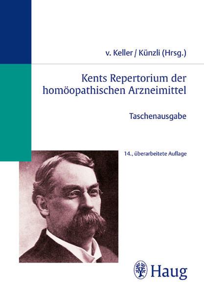 Kents Repertorium der homöopathischen Arzneimittel. Taschenausgabe - Coverbild