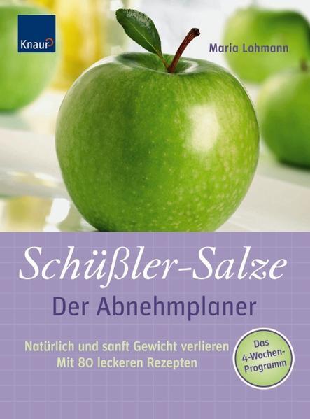 Schüßler Salze - Der Abnehmplaner - Coverbild
