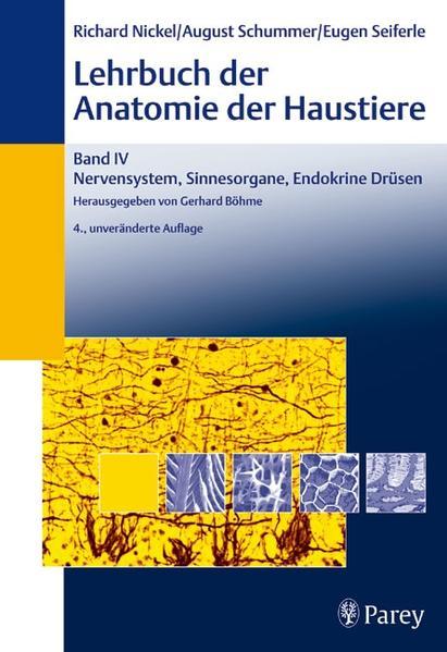 Lehrbuch der Anatomie der Haustiere Band IV - Coverbild