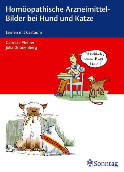 Homöopathische Arzneimittel-Bilder bei Hund und Katze - Coverbild