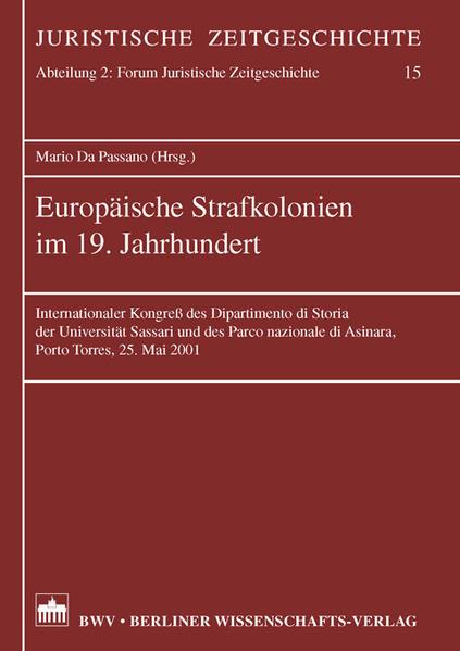 Europäische Strafkolonien im 19. Jahrhundert - Coverbild