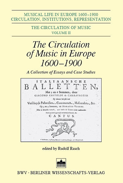 The Circulation of Music in Europe - Coverbild