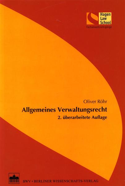 Allgemeines Verwaltungsrecht - Coverbild