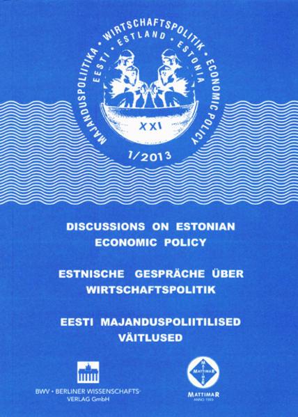 Estnische Gespräche über Wirtschaftspolitik XXI - Coverbild