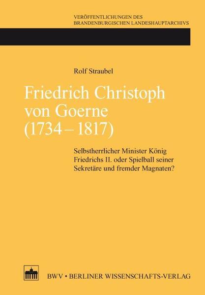 Friedrich Christoph von Goerne (1734 - 1817) - Coverbild