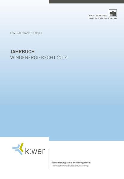 Jahrbuch Windenergierecht 2014 - Coverbild