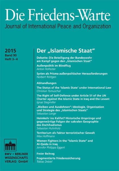 FW - Heft 03-04/2015, Jg. 90 - Coverbild