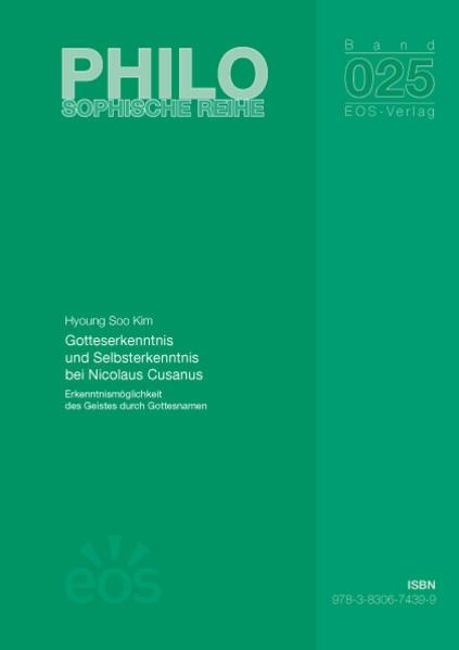 Gotteserkenntnis und Selbsterkenntnis bei Nicolaus Cusanus - Coverbild